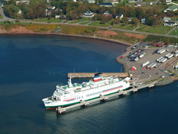 Ferry in Souris